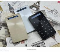 arabic music radio - Qmart S5 Arabic Greek Bluetooth dialer music mobile power bank mini Ultrathin card cell mobile phone