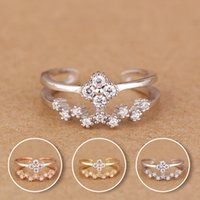 Wholesale fancy gold ring designs sterling silver small size mm diameter ring for small finger Silver rings models for woman