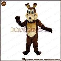 Wholesale Coyote mascot costume hot high quality cheap plush Coyote mascot cartoon set adult type we accept customized mascot