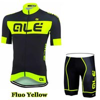 Wholesale 2016 Team Flou Yellow Ropa Ciclismo Cycling Jersey Bike Clothing and Cycling Bib Shorts Sets Bike Jerseys Cycling Clothing