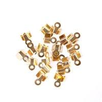 achat en gros de coupelles ton or-Perle Fleur Rétro Argent / Or / Bronze / Tone Copper Caps 500pcs 9mm 6mm / lot pour bijoux bricolage Making Bracelets