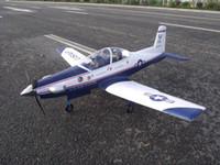 al por mayor rc avión de motor eléctrico esc-modelos de avión Pilatus mayor-T-6 Warbird Trainer eléctrico RC aeroplano PNP Versión con motor, servo, ESC instalado 1200mm
