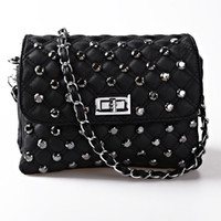 Wholesale Nice Handbags Women Messenger Bags Vintage Rivet Women Shoulder Bag One Shoulder Designer Crossbody Bags Bolsas Femininas BH666