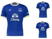 Wholesale DHL Thailand Quality Everton uniform home jerseys Everton jersey red men shirt Everton jersey