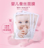 baby oil acne - WH MASK silk MASK babies smooth skin nourish skin hydrating complexion bright skin refreshing and smooth Ten pieces of a box