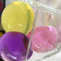 aqua vases - Huge size mm WATER AQUA CRYSTAL SOIL GEL BALL BEADS WEDDING VASE TABLE DECORATIONS colors for u pick