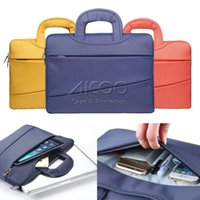 Wholesale Business Leisure High End Handbag Silk Nylon Laptop Case For Macbook Liner Sleeve For Macbook Air Pro retina