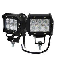 atv training - 2pcs Inch w cree led work light flood light lamp for offroad Truck SUV ATV train Tanks headlights fog lights V v
