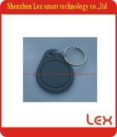 access rounding - 100pcs TK4100 chip khz ISO11785 RFID Proximity round key plastic id tags for Access Control