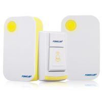 Wholesale Forecum F Waterproof Cordless Door Bell Remote Digital Smart Wireless Doorbell Chimes M Range Transmitter Receivers