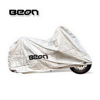 Wholesale BEON anti hot sun dust motorcycle sewing electric bike cover scooter motocross motorbike covers silver color of PVC size M L XL XXL