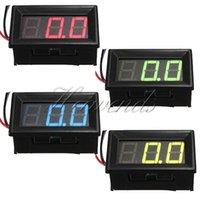 Wholesale The Best Quality quot DC V V LED Panel Voltage Meter Digital Display Voltmeter Moto Promotion