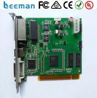 Wholesale Linsn TS802 Synchronous Sending Card for Full Color LED Display linsn sending card box SC801 CN701 EX901 EX902 EB701 MC801DS852D
