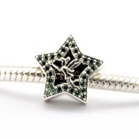 bell flowers - 2016 Tinker Bell Star Sterling Silver Bead Fit Pandora Fashion Jewelry DIY Charm Brand