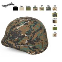Wholesale Outdoor Sports Equipment Airsoft Paintball Shooting Gear Tactical Helmet Accessory Muti Colors M88 Camouflage Helmet Cover