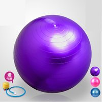 ball gram - AMX06 cm yoga ball gymnastics ball thickening explosion proof yoga ball grams bouncing ball manufacturer direct free ship