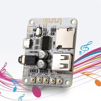 Wholesale 2016 New Type USB DC V Bluetooth Audio Receiver Board Wireless Stereo Music Module with TF Card Slot