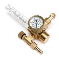 argon regulators - Top Selling Special Offer New Argon CO2 Gas Mig Tig Flow Meter Welding Flow Meter Professional Regulator Gauge For Sale
