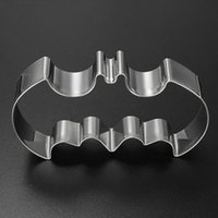 bat cookie cutter - For Bat Man Vampire Cake Decoration Mould Gift Stainless steel Halloween Fondant Cookies Cutter Mold