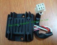 Wholesale Voltage Regulator Rectifier wire male plug for Motorcycle CG125 CG150 QJ125 QJ150 FMI FMJ Empire Owen Horse