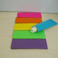 Wholesale Blanks Neoprene Popsicle Koozies Popsicle Sleeves Holders Ice Sticks Covers with with DOM103282