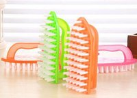 bath windows - 2016 Cleaning Brush Bath Washbasin Shoe Scrubbing Brushes Laundry Tools cm