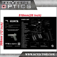 bench parts - Vector Optics GLOCK Pistol Smith Gun Cleaning Bench Work Mat Pad All Parts Review List