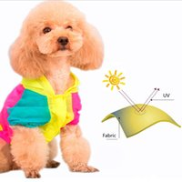 Wholesale Cat Hoodies Pet Autumn Sunscreen Clothing Mixed Colors Puppy Dogs Cute Sweet GP160327