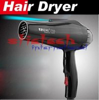 Wholesale by dhl or ems Hair Dryer Styling Tool Hot and cold wind W Nano titanium secador de cabelo free nozzles