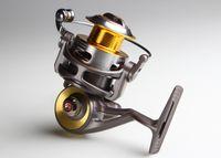 Cheap 2pcs CB940A Catking Metal Fishing Reels 9+1 Spinning Reel Pesca Golden Metal Spool