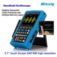 automotive oscilloscope for sale - Micsig MS420IT mini digital oscillsocope with MHz oscilloscope automotive and oscilloscope probe for sale