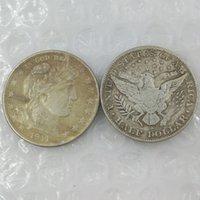 barber half - 90 Silver US S Barber Half Dollars Copy Coin