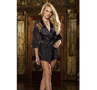 Wholesale Hot sell Ladies Nightdress Womens Pajama Sexy Lingerie Nightdress Kimono Gown Women Dress elegant drop shipping