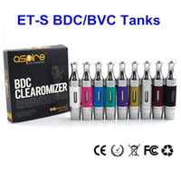 battery for aspire - Aspire ET S Atomizer Top Quality ETS BDC BVC Coils Clearomizer ML et s Tank Vaporizer for eGo Battery vs K1 Kanger T2 T3S E Cigarettes
