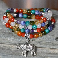 balance protection - 108pcs Balance Mala Elephant mala beads bracelet mala wrap gemstone mala wrist mala necklace protection healing mala yapa mala buddh