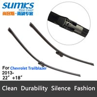 Wholesale Wiper blades for Chevrolet Trailblazer From onwards quot quot fit top lock type wiper arms only HY F12