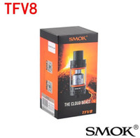 Wholesale New SMOK TFV8 Tank Full Kit ml Top Refill Sub ohm tank TFV8 Cloud Beast Tank With V8 T8 V8 Q4 Coil clone