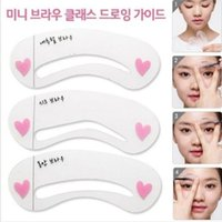 beauty assistant - Women s Fashion Grooming Shaping Assistant Template Eyebrow Drawing Card Brow Make Up Stencil Beauty tools Eyebrow card