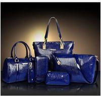 america handbags - 6 a Set handbags fashion handbags Composite Bag Euopean and America Style Brand Handbag Designer Handbag