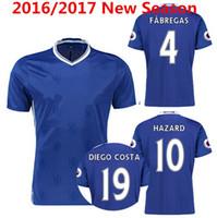 chelsea - Whosales New Chelsea Soccer Jerseys Chelsea Jerseys Football Shirt HAZARD pedro OSCAR Pato DIEGO COSTA Free Shipp TOPThai Quality