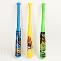 Wholesale children s outdoor toys soft baseball Hot Sale Baseball Bat Top Quality Plastic plastic Softball Bat Outdoor Sports Game