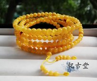 beeswax products - quot Yi Gu Tang quot the old natural beeswax is good product phase in chicken oil yellow old beeswax particle Beads Bracelet