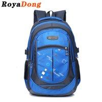 big backpacks for high school - RoyaDong Printing School Bag Nylon Big Size High Quality School Backpack For Boys Girls Kids And Teenagers