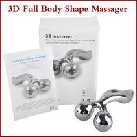 Revisiones 3d machine-360 ° Rotación 3D Massager lleno del cuerpo de la forma para la cara y el cuerpo de elevación remover las arrugas en forma de Y rodillo masajeador solar Refa quilates Massager Máquina