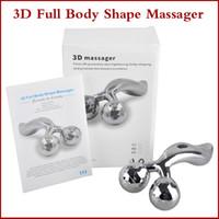 360 ° Rotación 3D Massager lleno del cuerpo de la forma para la cara y el cuerpo de elevación remover las arrugas en forma de Y rodillo masajeador solar Refa quilates Massager Máquina