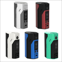 Wholesale original Wismec Reuleaux RX200S W TC Mod Variable Temperature Control with Upgradeable Firmware Inch OLED Screen New Colors