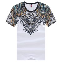 Wholesale New Chinese Style Fashion Style Cotton Men tshirt Fitness Casual Cotton Mens T shirt Summer O neck Short Sleeve Tees Clothing