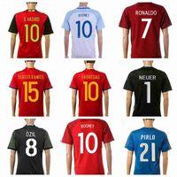 Wholesale Soccer Jerseys EURO Cup Brand Soccer Uniform All Teams Soccer Sportswear Top Selling Soccer Jerseys