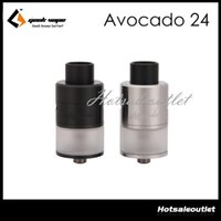 hinges - Geekvape Avocado RDTA ml Tank Avocado Atomizer velocity deck with hinge lock fill system E Cigarette Tank Original Free DHL