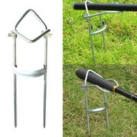 Wholesale Top Selling Useful Fishing Accessory Adjustable Bracket Fishing Rod Pole Stand Holder Fishing Tool